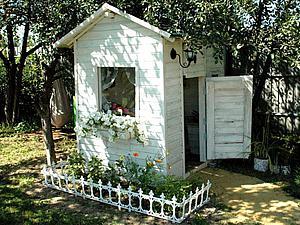 Создаем уютный игровой домик для детей