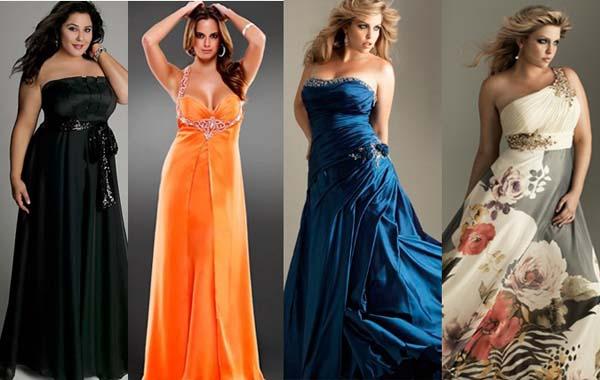 Платья на выпускной вечер на полных