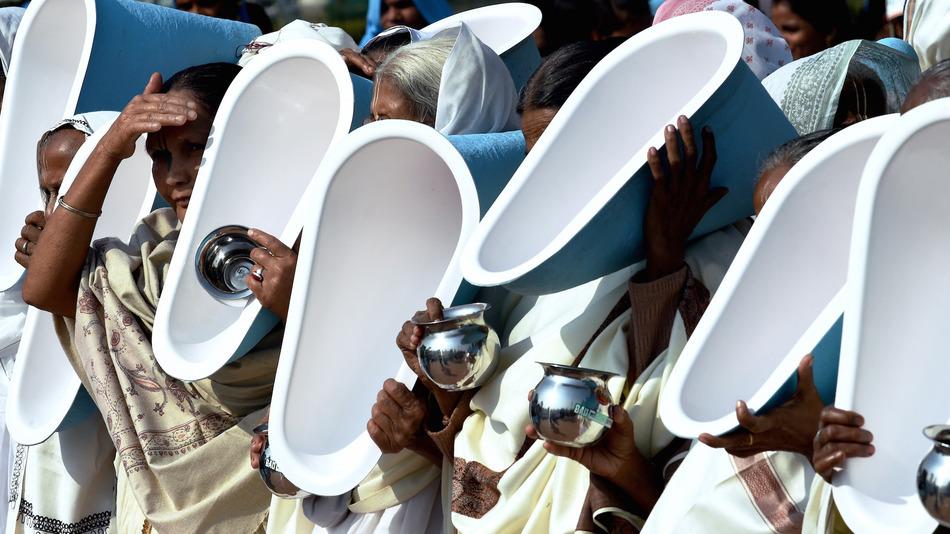 Почему у людей в Индии особое отношение к унитазам