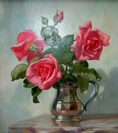 натюрморты цветы-15