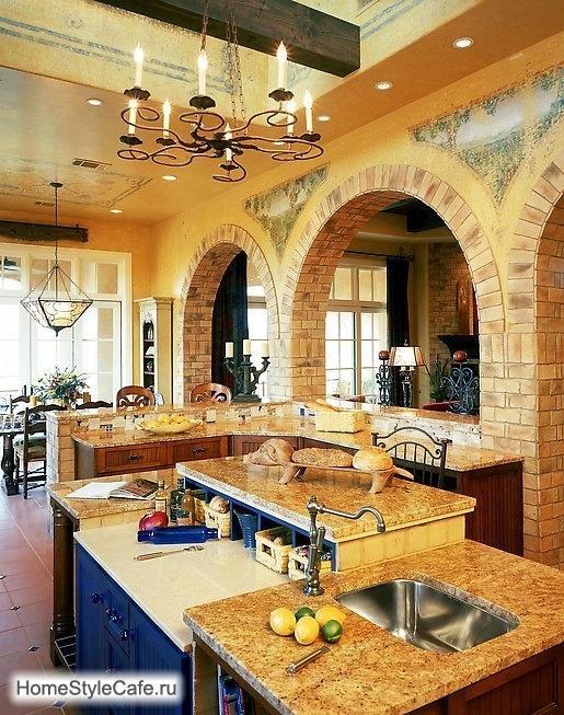 Кухня в итальянском стиле интерьер фото 6