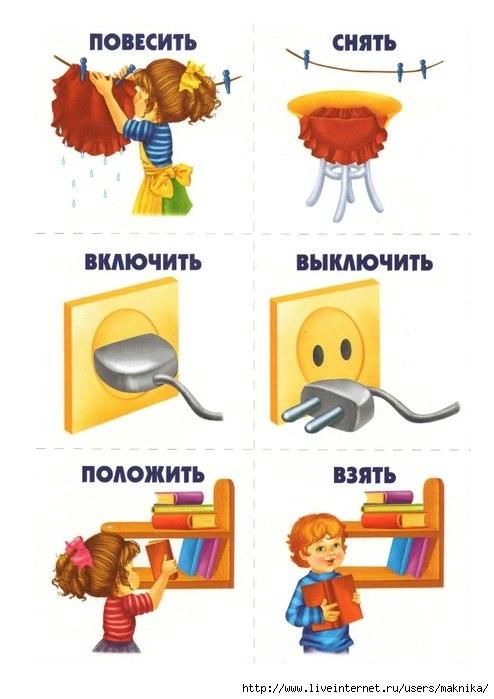 Воспитатель бросает мяч ребенку, называя глагол, ребенок возвращает мяч обратно, называя синоним к глаголу.