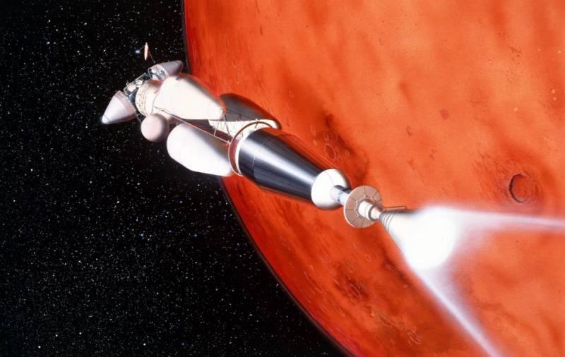 В России показали космический корабль с ядерным двигателем