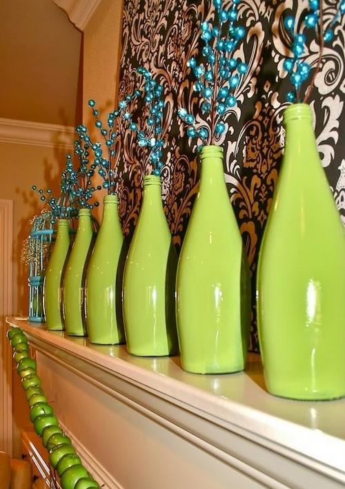 Как декорировать бутылку своими руками к новому