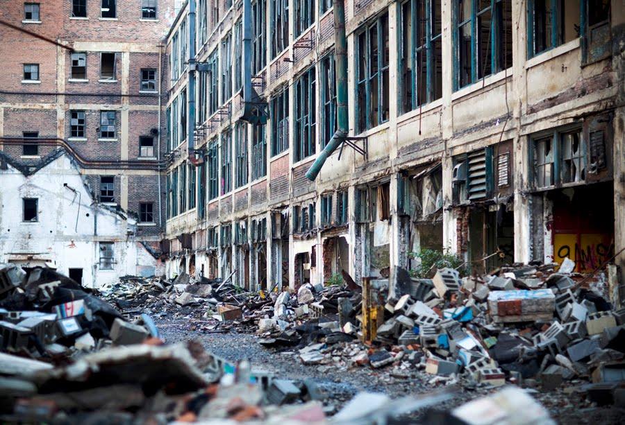 сша фото банкроты города в