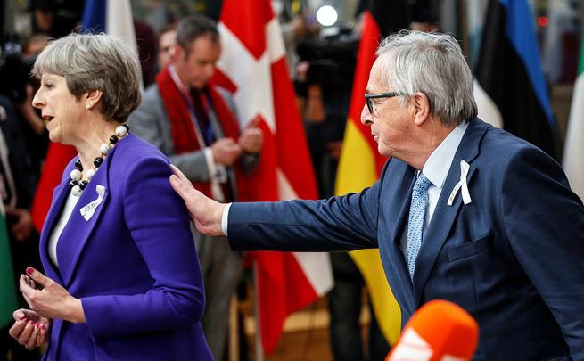 Британия просила Европу о чу…
