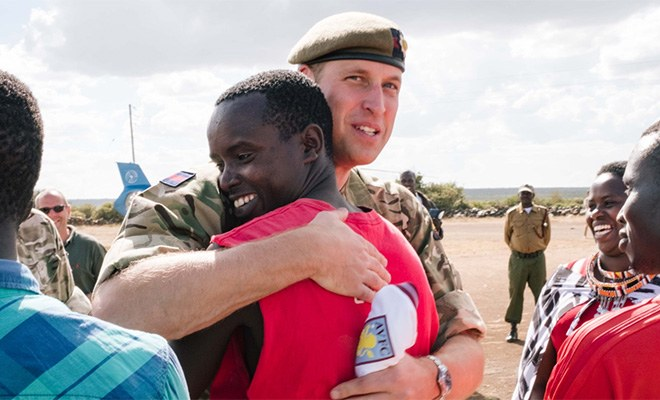 Супруг Кейт Миддлтон познакомился в Кении с принцем Уильямом