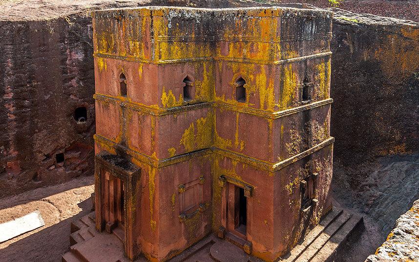 Церковь Святого Георгия, Эфиопия.