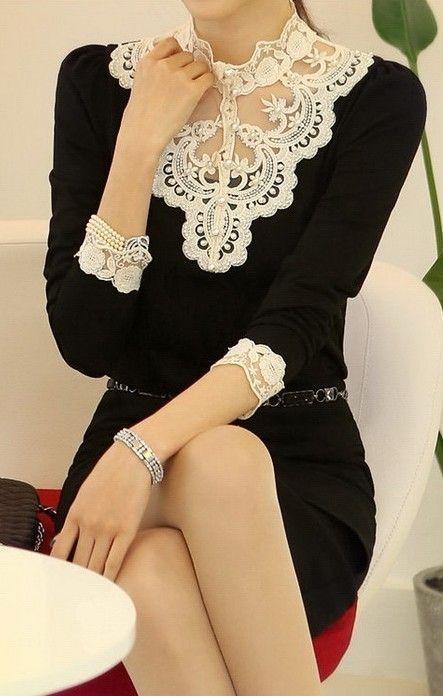 Красивая одежда с кружевами