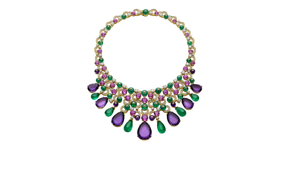 Bulgari High Jewellery necklace in yellow gold