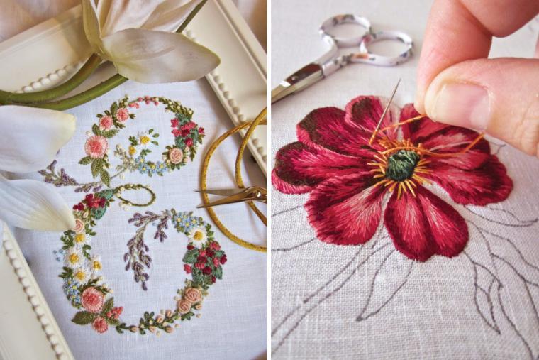 Восхитительно — изящные вышивки итальянской рукодельницы Elisabetta Sforza