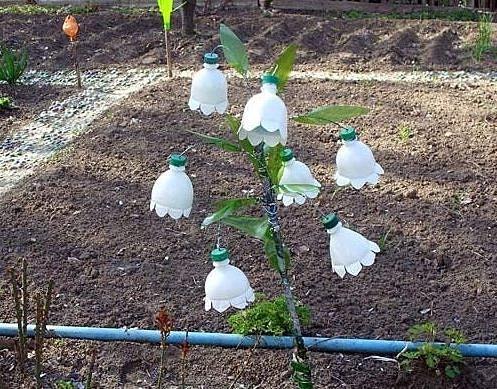Поделки своими руками - для сада и огорода, Поделки из бетона..