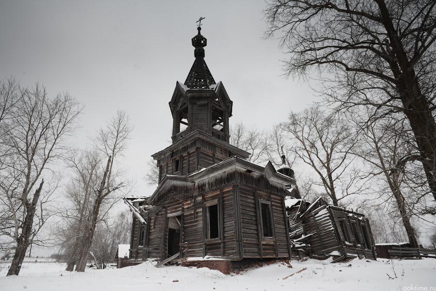 Старинные русские деревни, которые оказались полностью брошенными