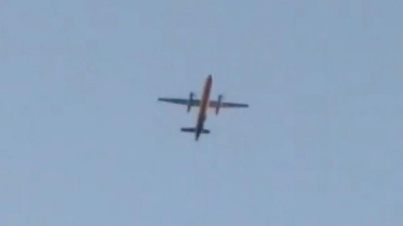 Опубликовано видео с места крушения угнанного в Сиэтле самолёта
