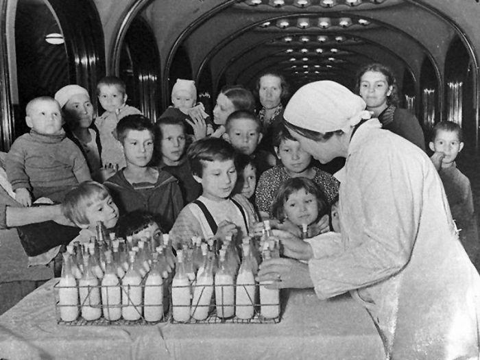 Московское метро, ставшее дл…