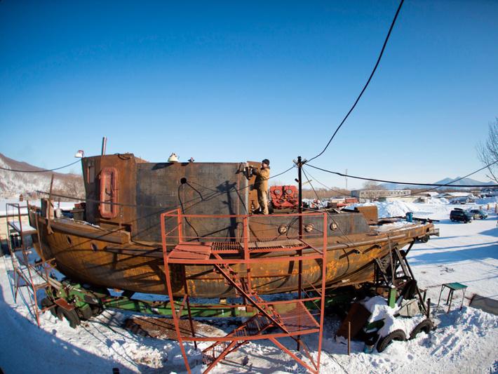 рыболовное судно постройка