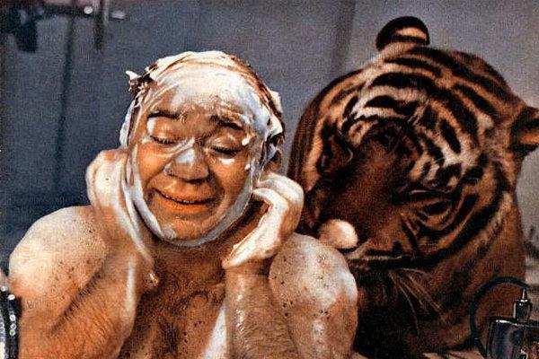 Как Леонов от тигров бегал. Актерские байки.