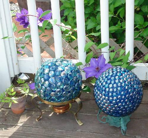 Декоративные шары из цемента для сада. Идеи и мастер-класс (21) (500x464, 73Kb)