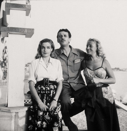 1949 - Simone SIGNORET, François VILLARD, Jeannine FRANCEY (415x429, 37Kb)