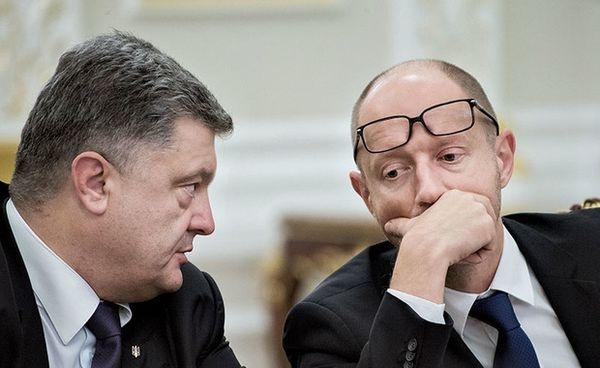 Порошенко готов отправить Яценюка вотставку, ноеще ищет замену: СМИ