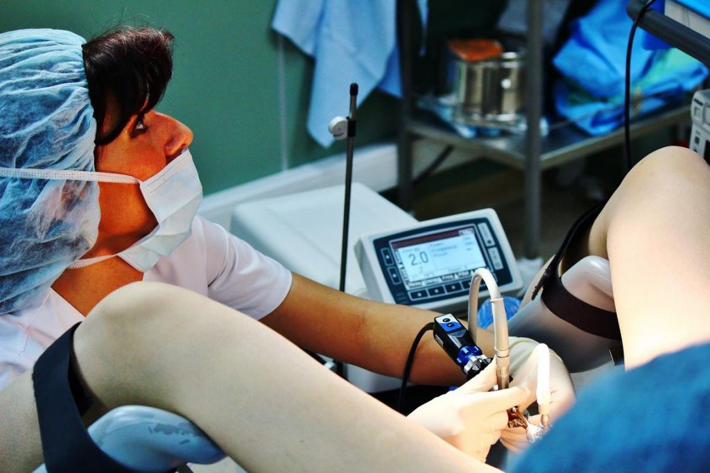 Гинеколог вставляет руку видео правы