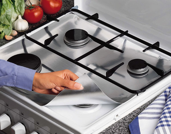 Защита для газовой плиты