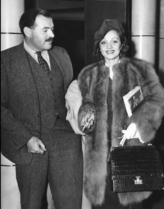 Марлен Дитрих и Эрнест Хемингуэй: больше, чем дружба, меньше, чем любовь