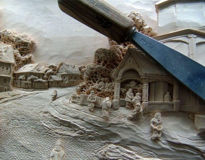 Умельцы земли Русской искусство, картины, резьба по дереву, россия, фото