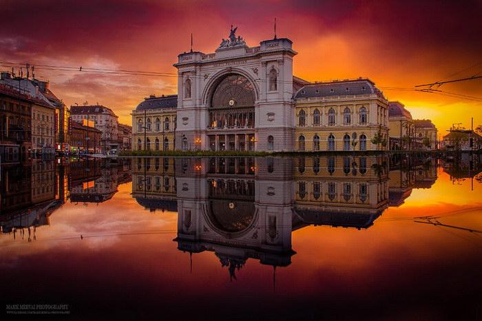 Яркие краски Будапешта