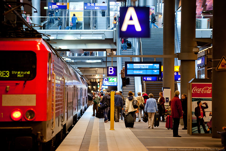 Berlin 30 Общественный транспорт Берлина
