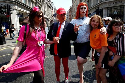 Трамп задумал узаконить геев…