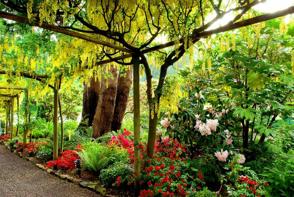 10 восхитительных садов и парков, в которых хочется встретить весну