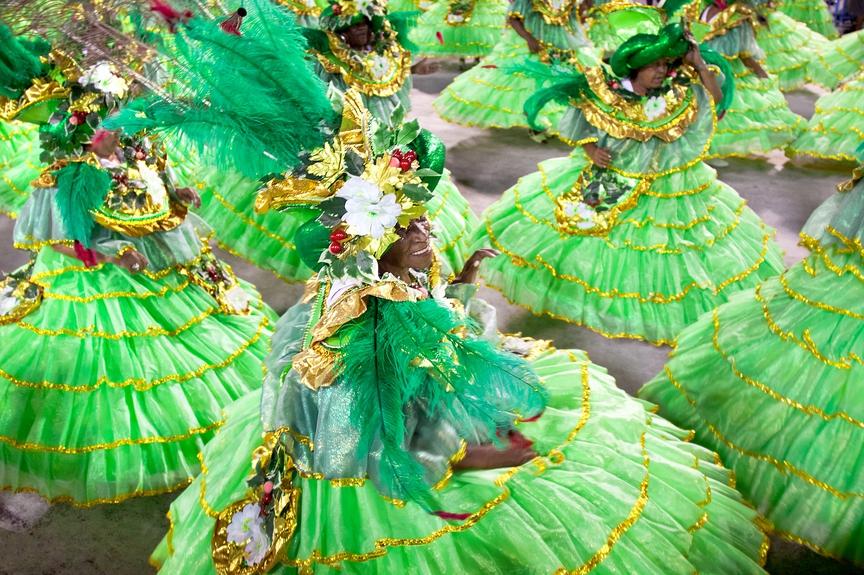 Как проходит карнавал в Рио-де-Жанейро: фото, история и самба