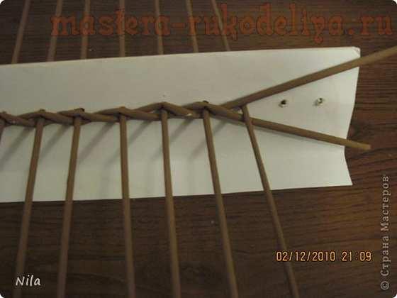 Мастер-класс по плетению из газет: Плетение квадратной (прямоугольной) коробки