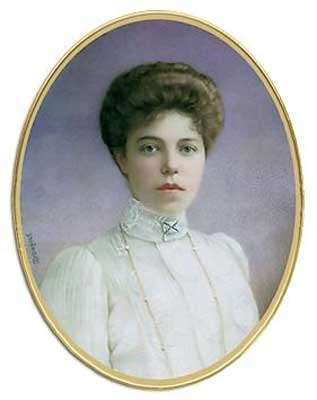 Ольга Александровна Куликовская-Романова.  <div id=