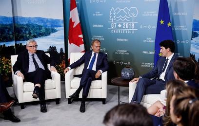 В Канаде на фоне разногласий открылся саммит G7