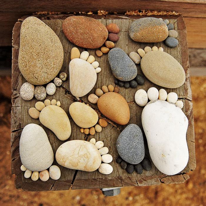 Что можно сделать своими руками из камней