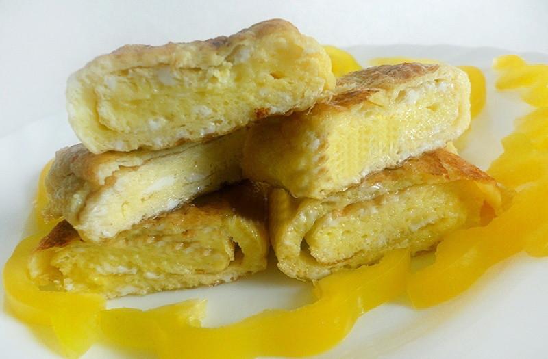 3. Классический французский омлет еда, завтрак, омлет