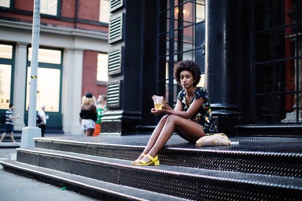 On the Street…Howard St., New York