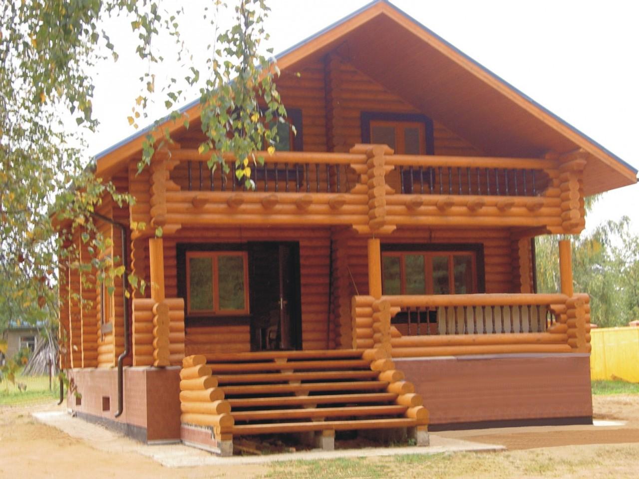 Из чего построить деревянный дом?