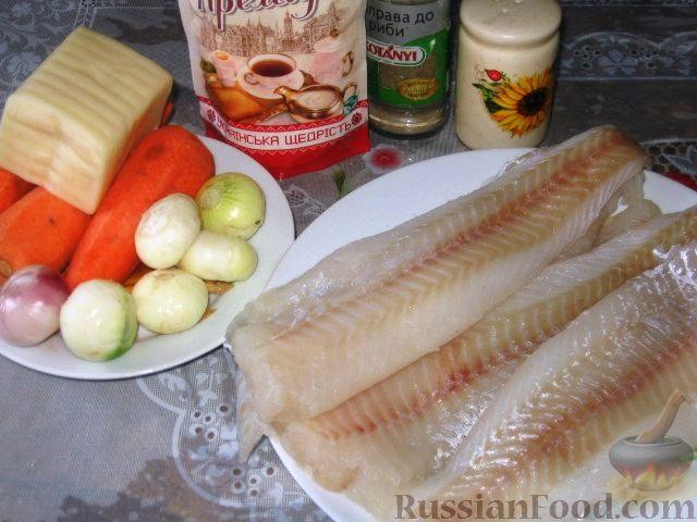 """Рыба, запеченная под """"шубой"""" - обалденный вкусный быстрый рецепт!"""