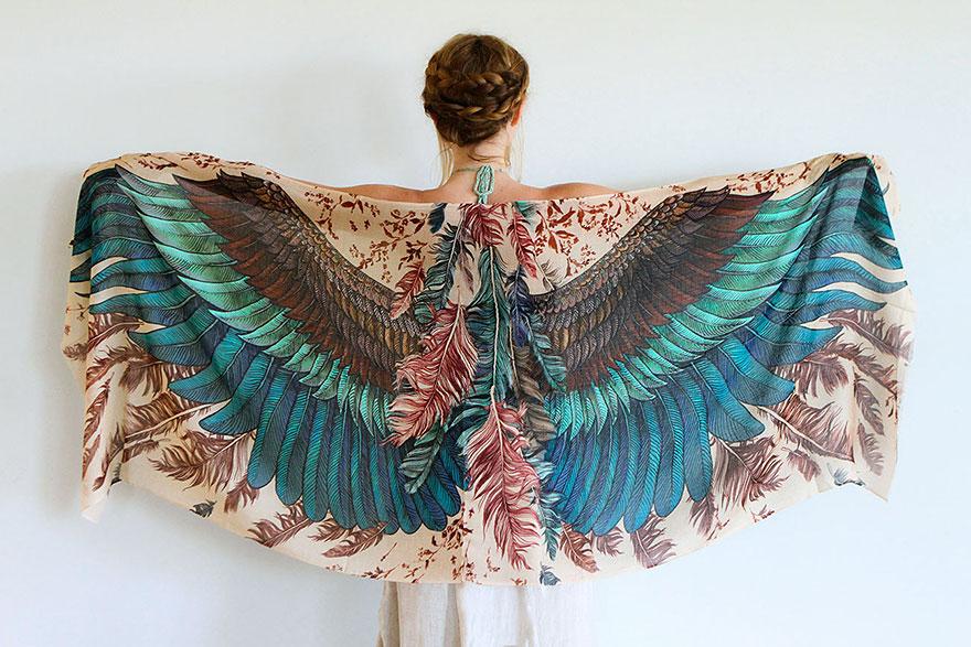 Эти прекрасные шарфы сделают вас птицей