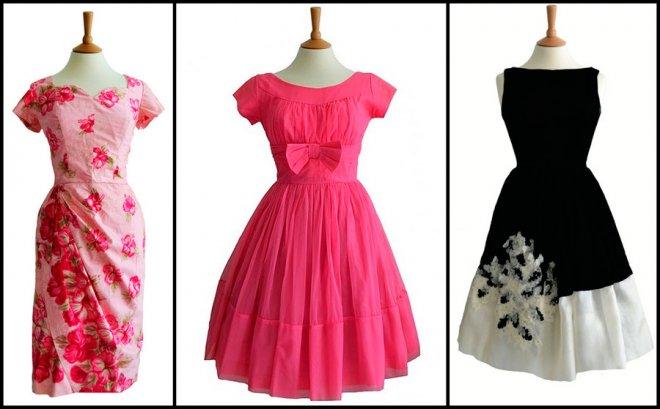 Винтажные платья