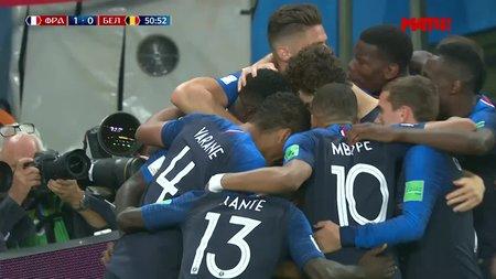 Выход Франции в финал чемпионата мира – вирусный пост дня