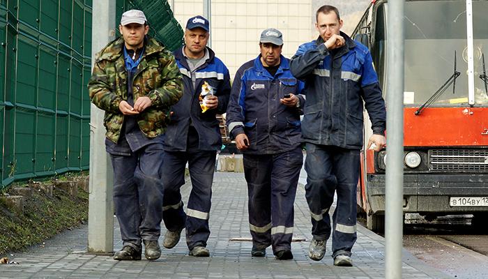 Львовских хлопцев ждут на российских стройках