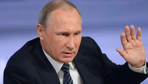 Путин: Мы не будем надувать губы из-за санкций