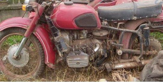 Оживление мотоцикла Днепр(20 фото)