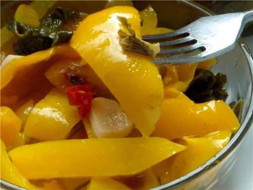 Салат из болгарского перца по-чешски