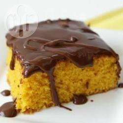 Бразильский морковный пирог