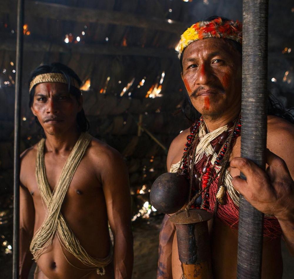 Фоторепортаж о жизни племён Амазонии